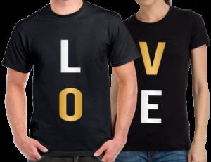 Egyedi póló készítés Valentin napra
